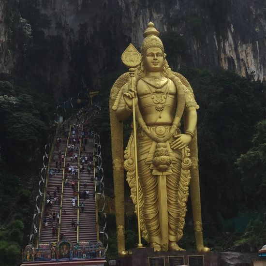 Grandeur Batu Caves Culture Hindu Temple Hinduism Malaysia South East Asia Statue Temple Tourism Travel Travel Destinations Travel Photography First Eyeem Photo