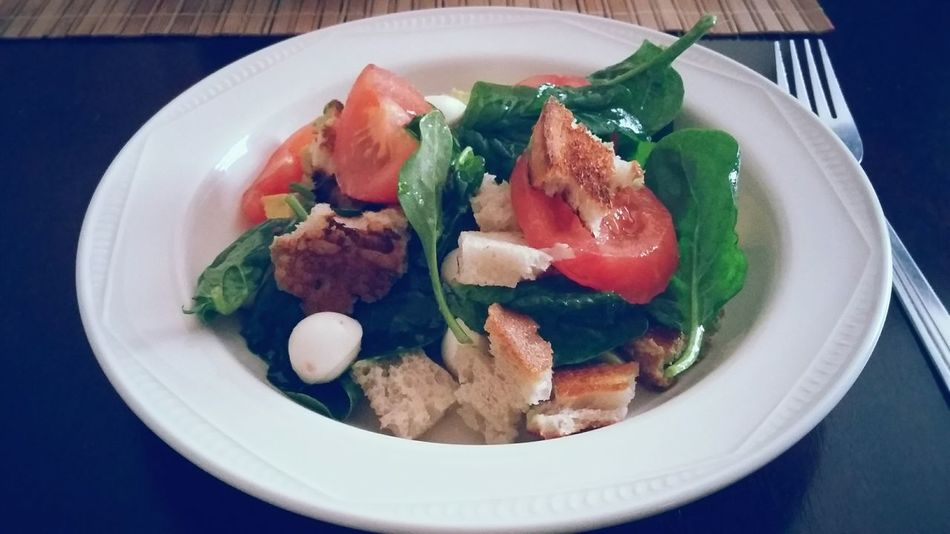 a little treat Salad Light Dinner  Something Simple Spinachsalad Something I Like Help Yourself