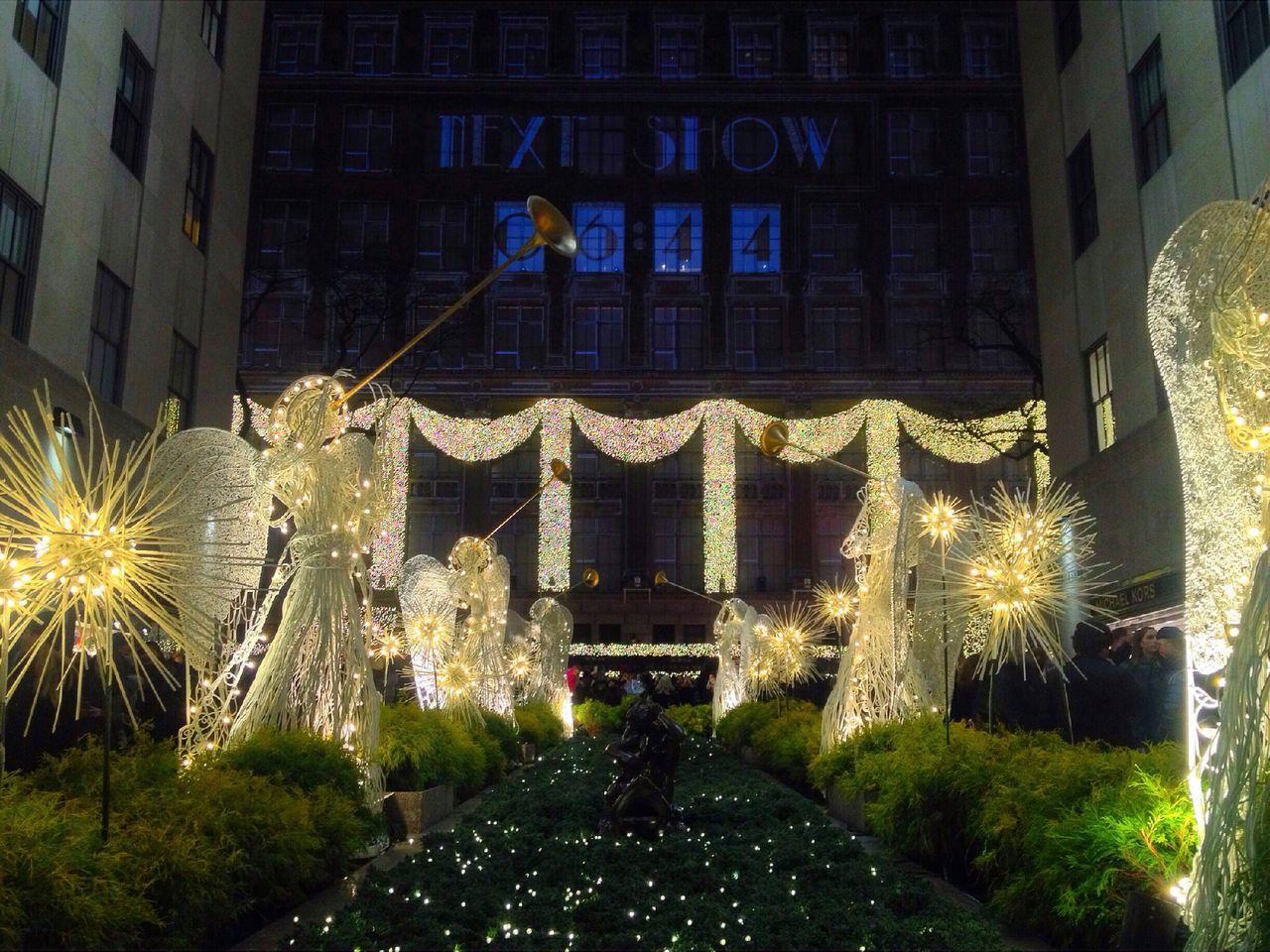 Christmas Lights NYC Photography Rockerfeller Christmas