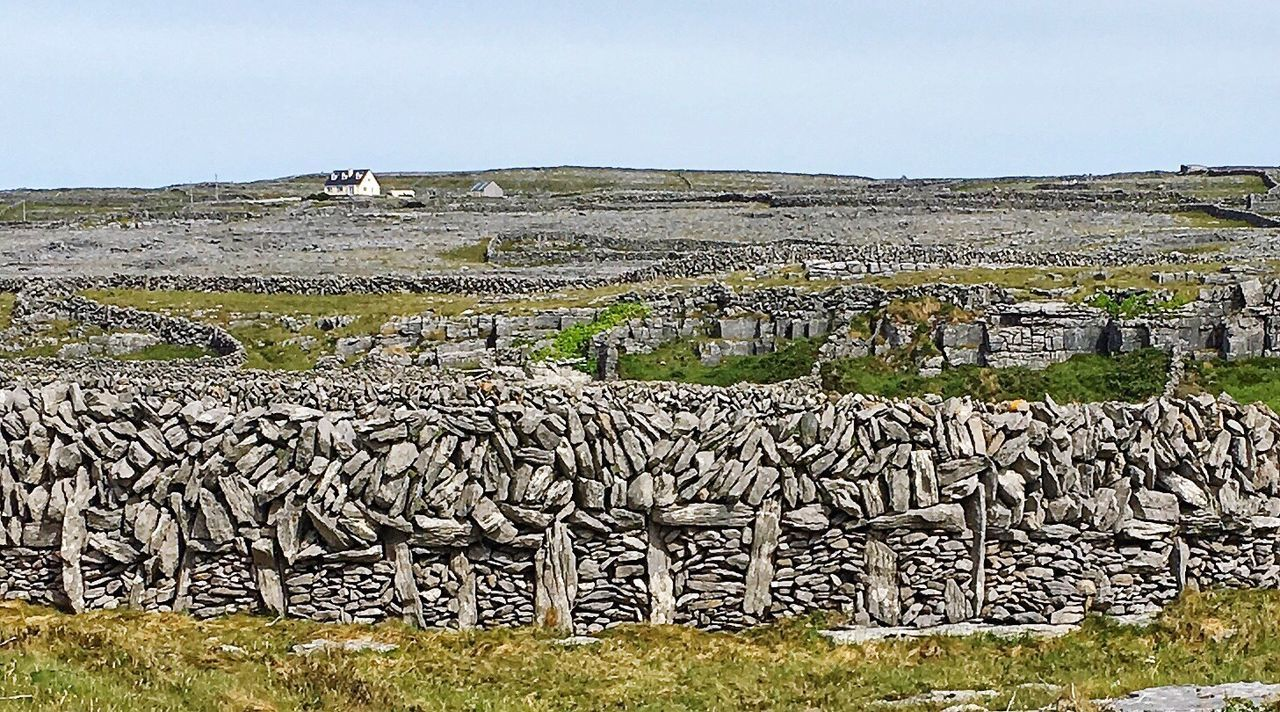 Irish Stone Work. A typical wall construction on the Aran Islands off the West coast of Ireland The Great Outdoors - 2017 EyeEm Awards IPhoneography The Architect - 2017 EyeEm Awards Built Structure Eyeemphoto Rock Formation Rock - Object Outdoors Aranisland Inis Mor Wildatlanticway Westcoasrofireland Masonry Work