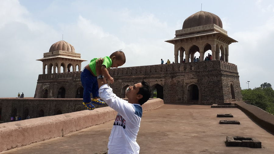 Wid my luvly son.......most precious moment