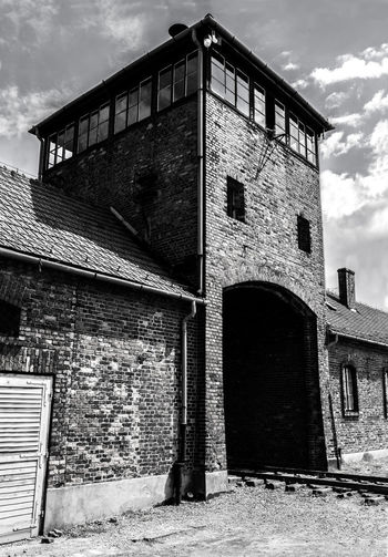 Aushwitz Aushwitz Residence Aushwitz-Birkenau Crakow Death Camp Eastern Europe Poland Architecture Aushwitz Camp Building Exterior Built Structure Cloud - Sky Concentration Camp Concentrationcamp Day Killing Krakow Low Angle View No People Outdoors Sad Sky Window