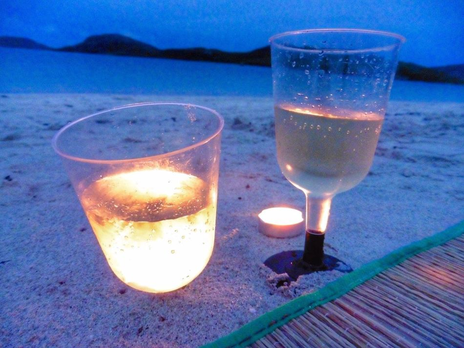 Wine Moments Sea Beach Close-up Horizon Over Water Drink Nature Drinking Glass No People Outdoors Beauty In Nature Scotland Hebrides Vatersay