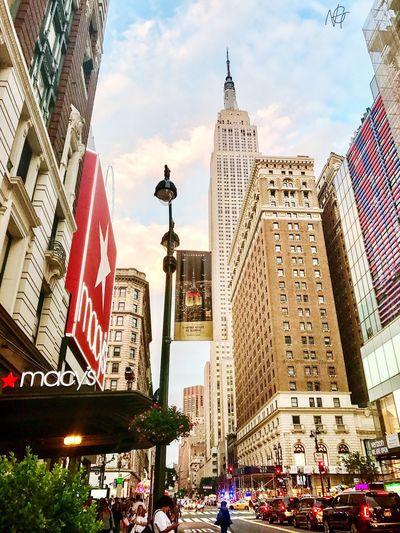Manhattan Manhattan New York City Skyscraper Architecture City Travel