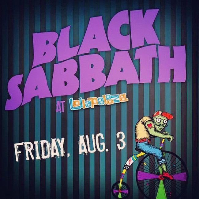 Friday Lolla Blacksabbath