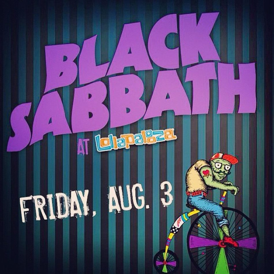 Friday Lolla Blacksabbath