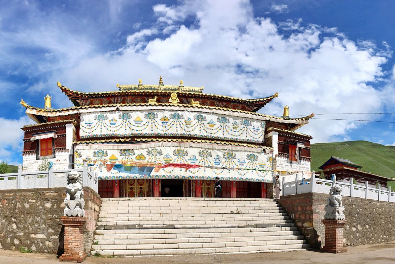 Qinghai (Province) 阿柔大寺