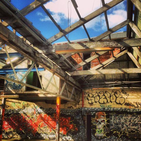Graffiti Abandoned