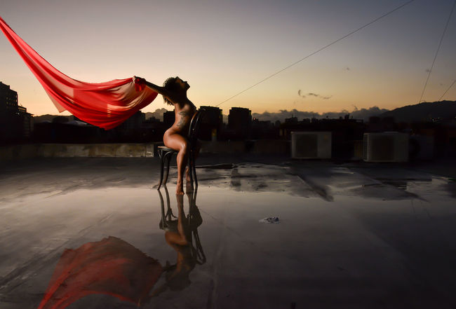 Tela roja en el Ocaso !!! @shivaluisa Eye4photography  Sensual_art Eye4reflections EyeEmbestshots