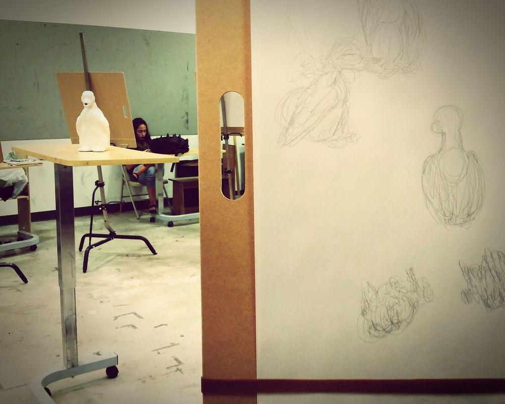 My Student Life Art Class Drawing Class Gesture Drawing Student Life Practicing Art Student Life