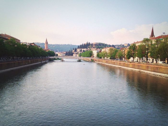 103/365 April 13 2017 One Year Project Verona Verona Italy Veneto Italy Adige Ponte Navi Architecture Built Structure River Travel Destinations Water Building Exterior Tourism Waterfront Outdoors History Sky Bridge - Man Made Structure Travel Religion Tree Spirituality City Day Nature No People