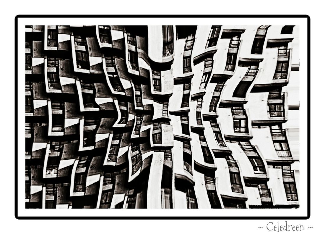 "- ""Oppression"", Grenoble, 2010 (?) - Street Photography Street B+W Black & White Symmetry"