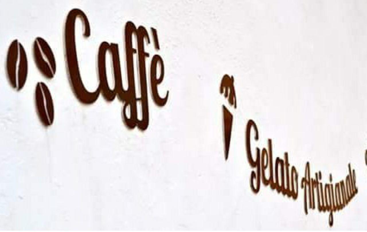 Text No People White Background Caffè Gelato Icecream🍦 Coffee