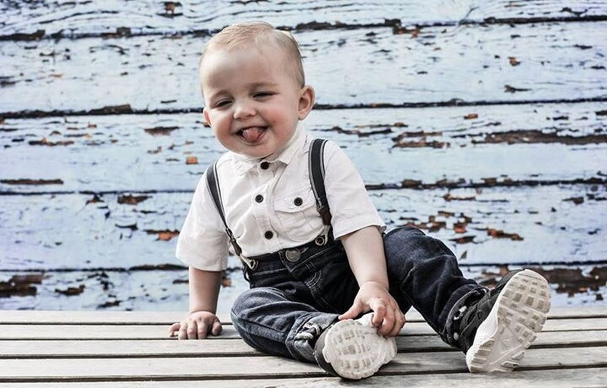 Baby. Boy with tongue out!! Baby Babies Only Full Length Smiling Sitting Wood - Material Innocence One Person Happiness Childhood People Outdoors Cheerful Portrait Day Cheecky Babyhood Baby EyeEmNewHere Toddler  Fashion