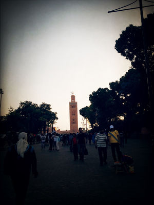 Monuments at Marrakech by Amine Med
