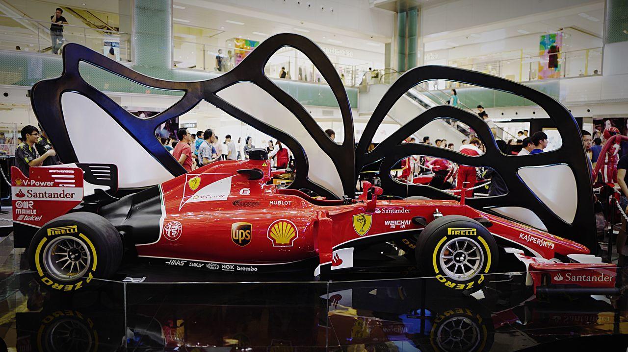 formula car. HongKong Discoverhongkong Formula 1 Car Supernormal Talking Photos Walking Around Shatin Newtownplaza Leica