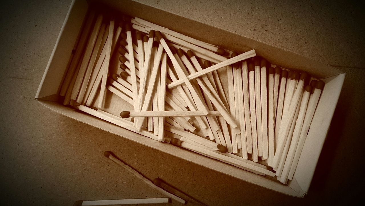 A box of matches ... Lines And Shapes Still Life Abstract Backgrounds Things Set Of