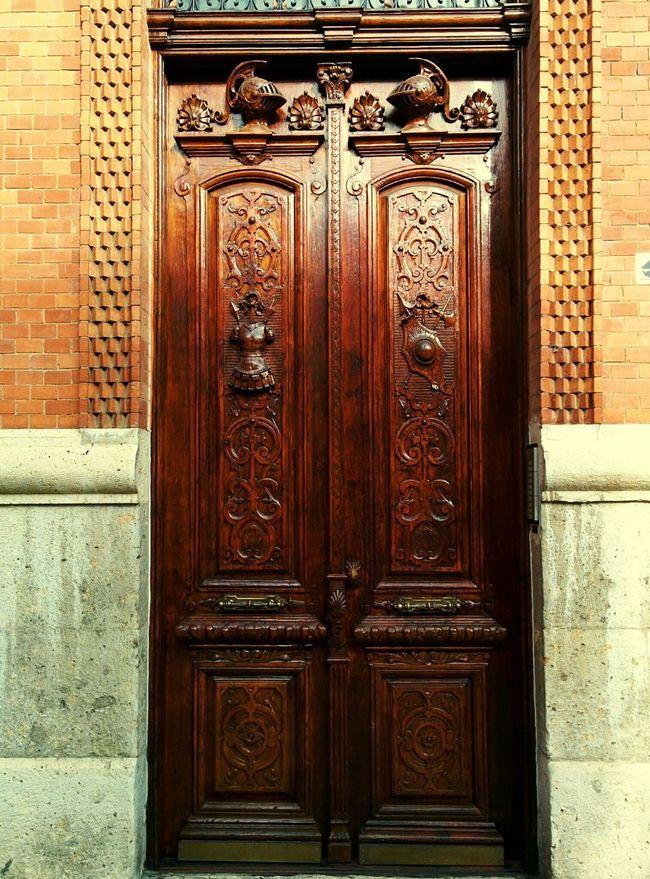 Puerta de madera Doors