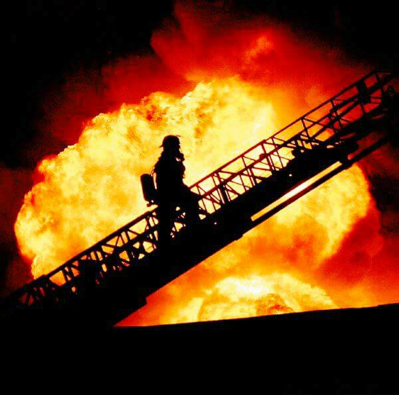 Focus on the job at hand. Flame Service Honor The Calling Sacrafice  Pride Commitment Firefighter Apparatus Ladder Arial Finding New Frontiers