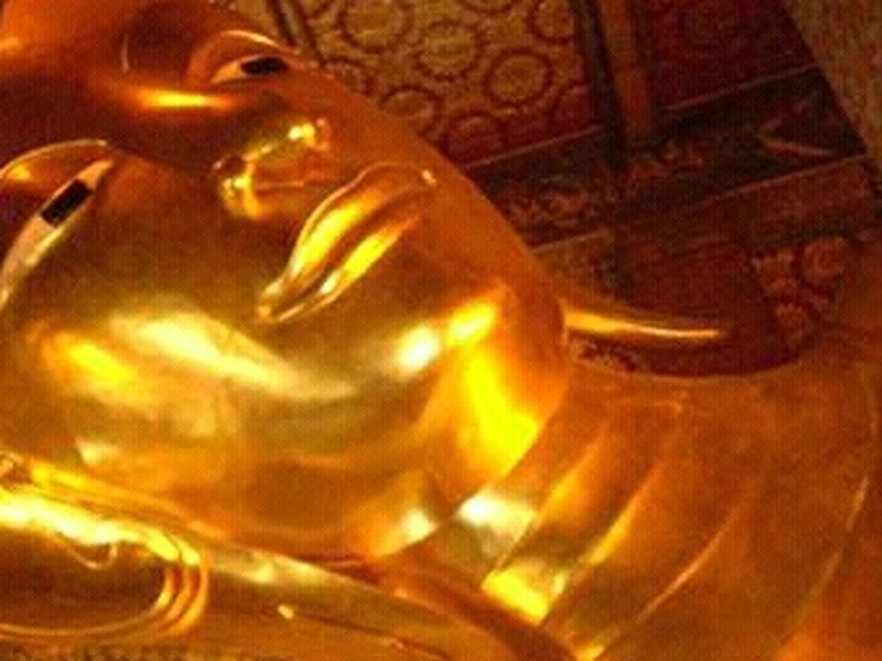 indoors, gold colored, no people, close-up, statue, sculpture, golden color, illuminated, day