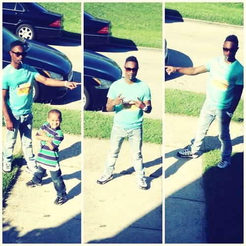 Me And My Manz Today Doing It Big Outside Lol And When You See This Pic Dont For Get To Loke It
