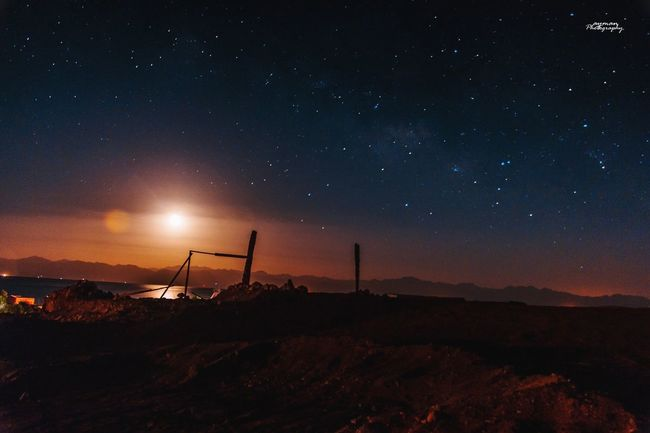 Photography Photooftheday Sky Egypt Star Sinai RedSea Taba Egypt Rasshetan Long Exposure Night Landscape Beauty In Nature Nature Outdoors No People Dark Star Field Wide Angle First Eyeem Photo