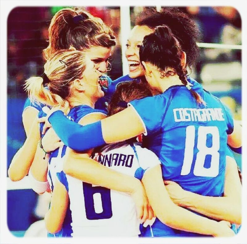 go on this way! Gogirls FIVBWomensWCH Italy2014 Italrosa