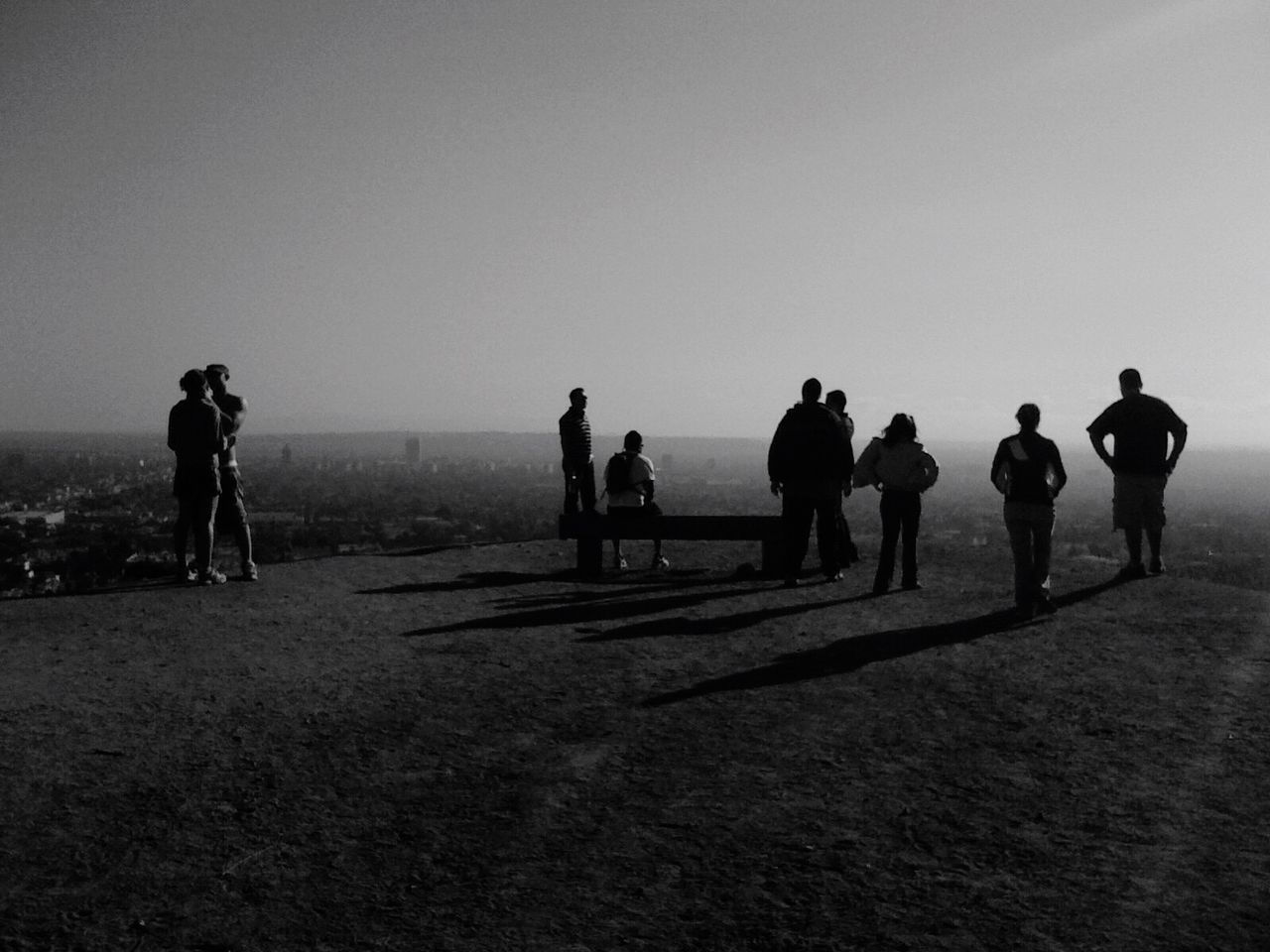 QVHoughPhoto Runyoncanyon Hollywood Hiking Losangeles Cityscapes Landscape Pacificocean Blackandwhite Vaguevisages IPhoneography IPhone4s
