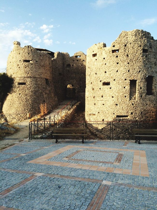 Castello Normanno XI secolo Architecture Built Structure Building Exterior History Old The Past Old Ruin Travel Destinations Fort Sunlight Shadow Sky Castle Medieval Ruined Stone Material Fortified Wall Outdoors Stone Wall Ancient