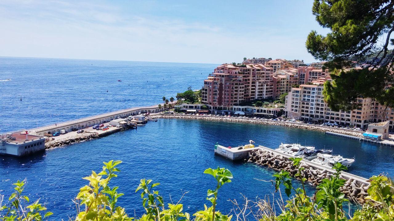 Sea Scogli Beach Summer Spiaggia Mare Sole Beautiful Grattacieli Monaco