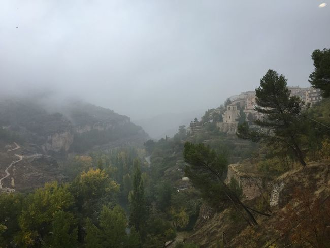 Foggy Day Cuenca Hoces Del Júcar
