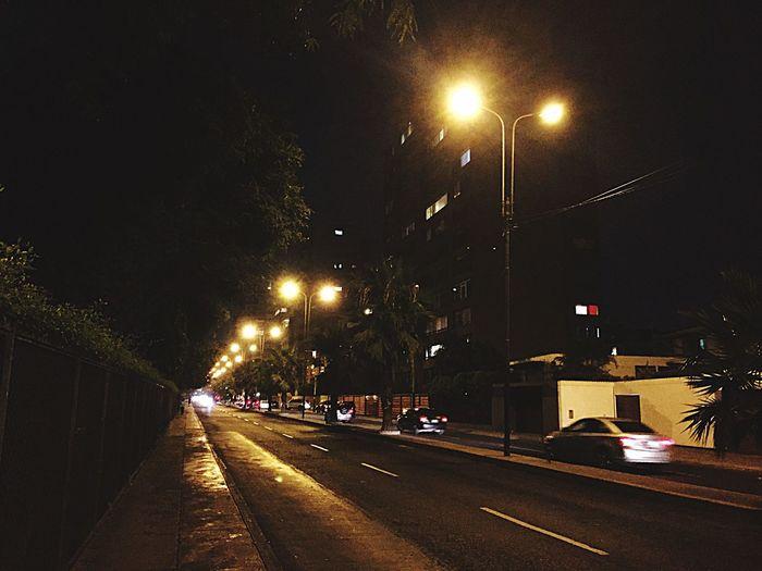 Camino sin fin Street Infinity ∞ Lightshow The City Light