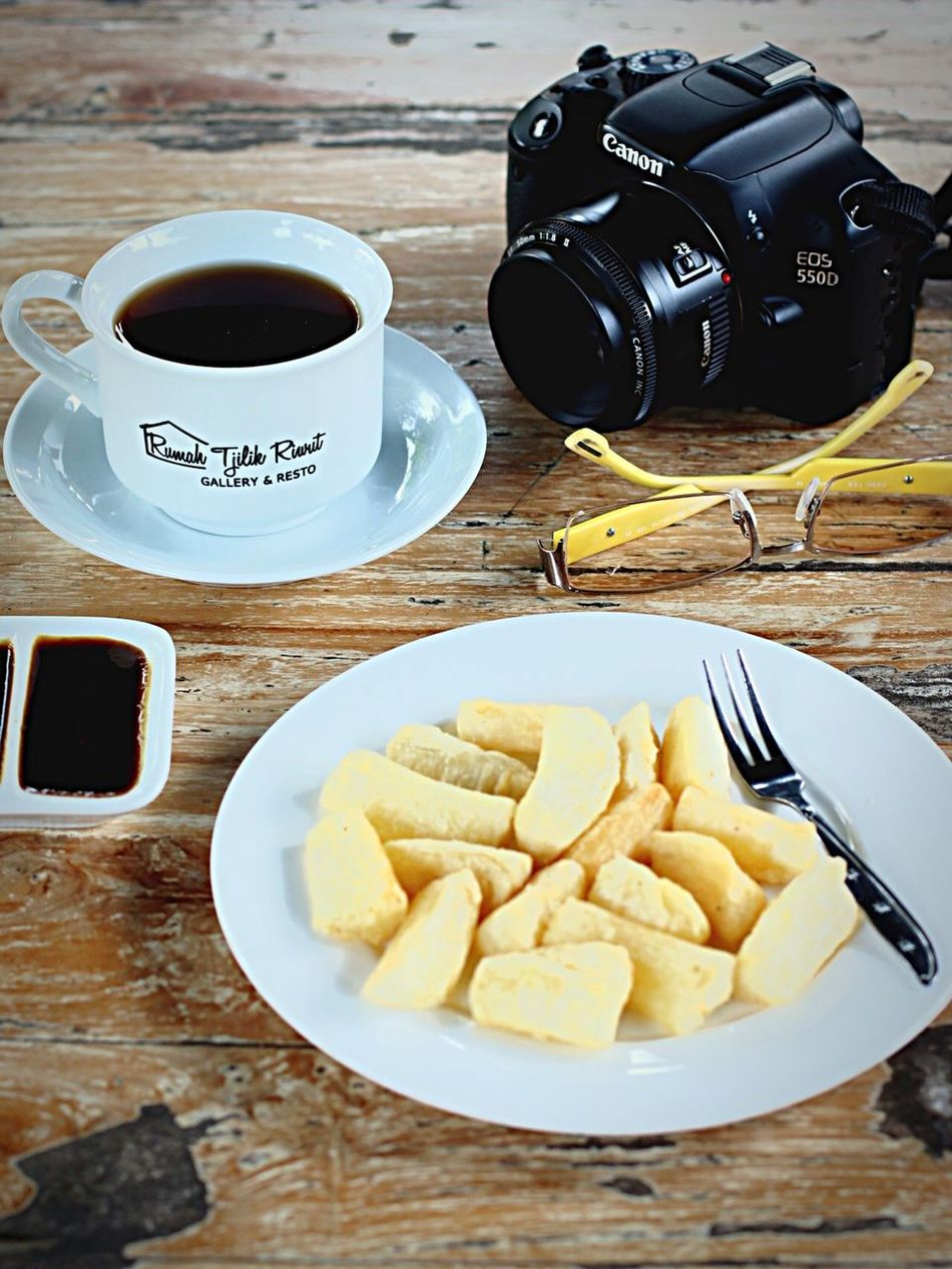 This afternoon...With u☺️ Food And Drink Coffiee Time Food Photography This Afternoon Relaks Cassava