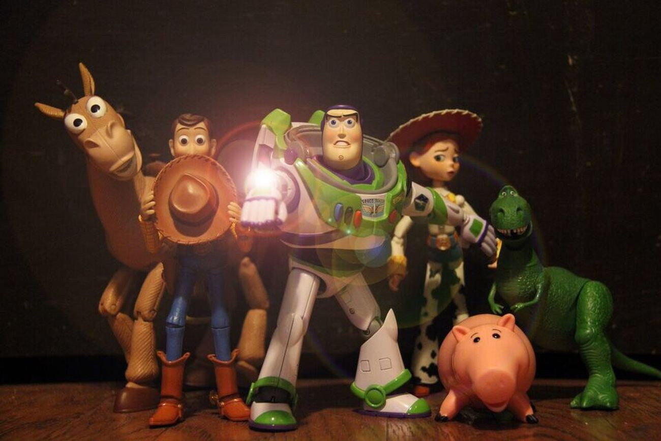 """Son of a building block, guys, RUN!"" Toystories Toyphotography Plastictherapy Buzzlightyear Woody Toystory Pixar  Disney Toys"