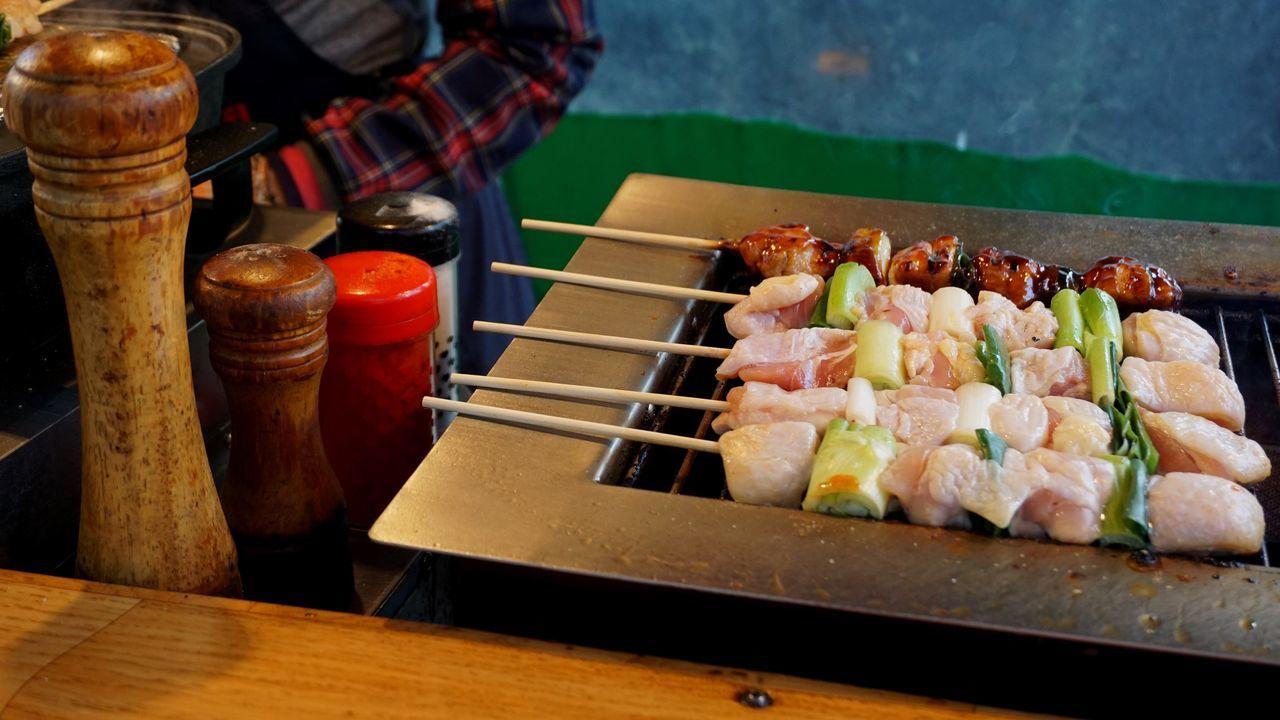 Chicken Skewers Skewer Meat! Meat! Meat! BBQ Food And Drink Food Healthy Eating Ready-to-eat Street Food Worldwide Korean Food