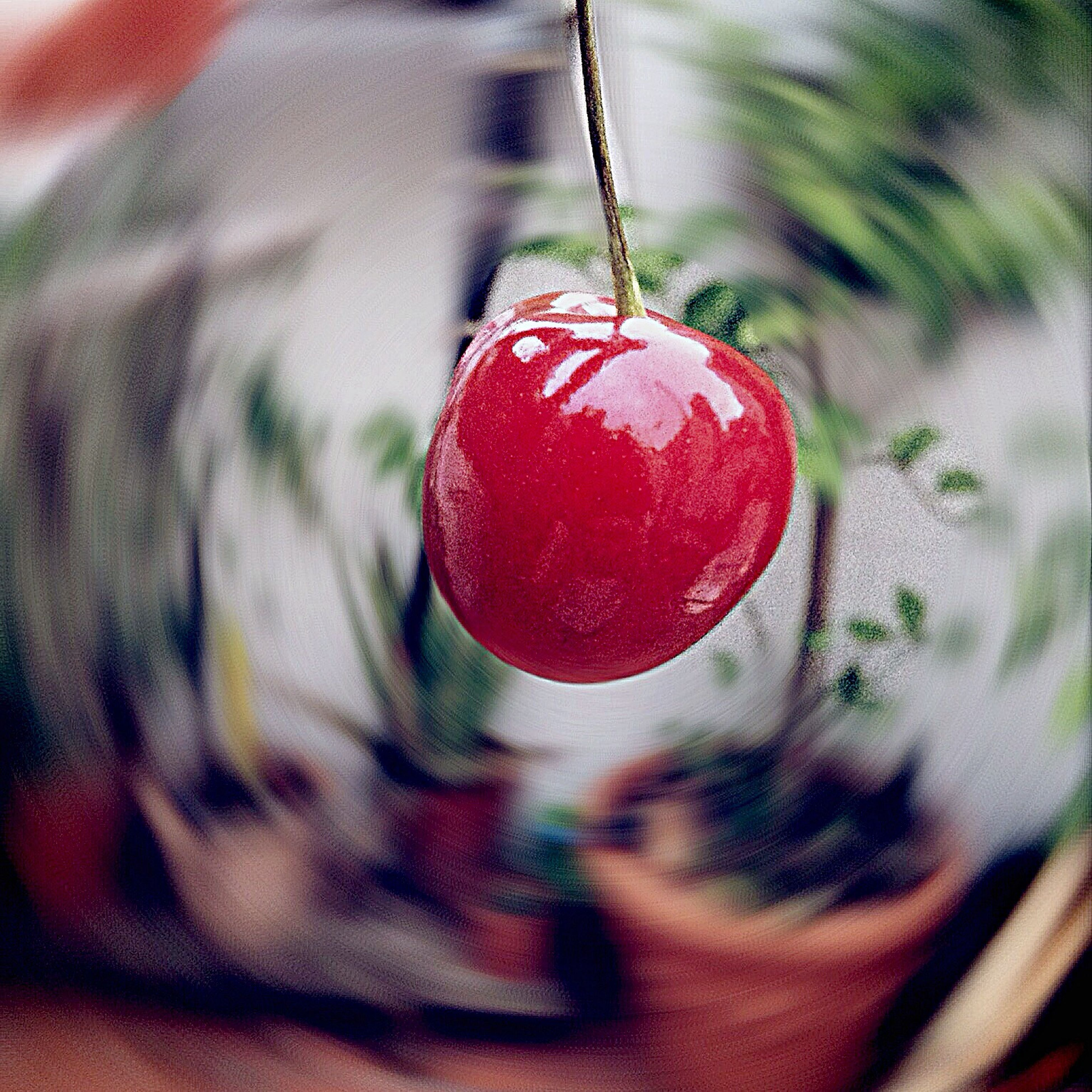 red, close-up, food and drink, fruit, focus on foreground, selective focus, berry fruit, cherry, strawberry, no people, still life, food, heart shape, hanging, indoors, freshness, love, ripe, day, christmas