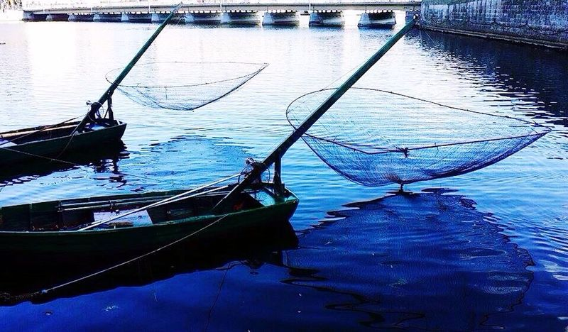 Water Nautical Vessel Transportation Reflection Gondola - Traditional Boat Moored Mode Of Transport Travel Destinations No People Horizontal Outdoors Day Nature