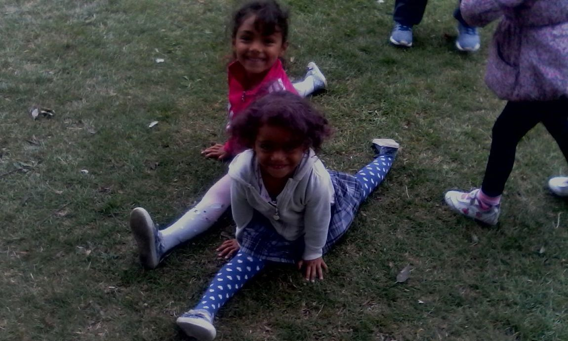Out There Festival Great Yarmouth Uk my daughters destiny and dezire doing splits at out there festival gt yarmouth 2016