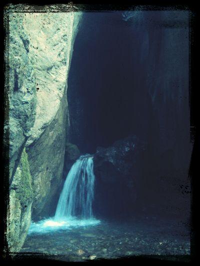 Summertime Waterfall Pond Macedonia
