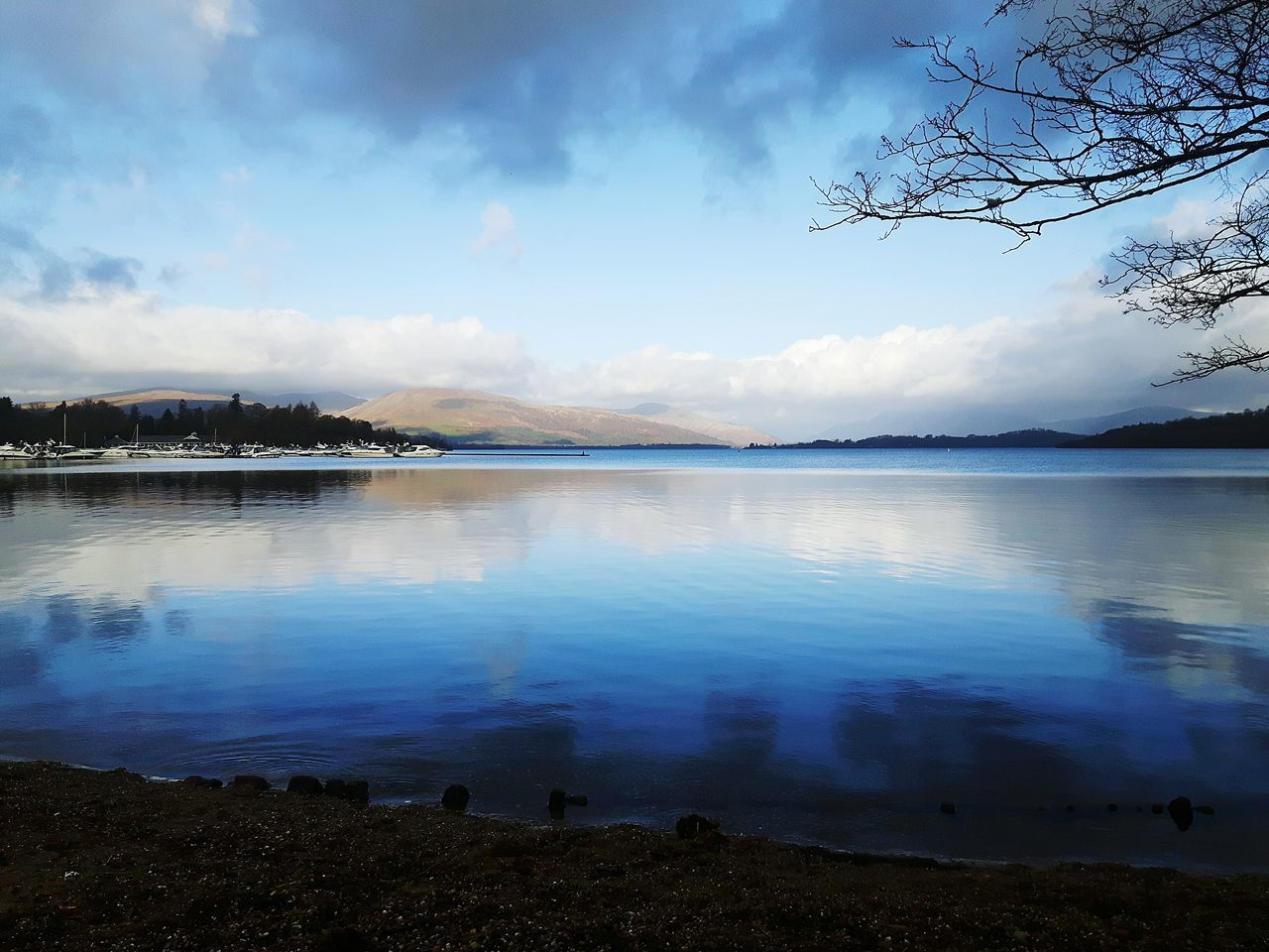 Landscape Reflection Cloud - Sky Horizon Over Water Scenics No People Outdoors LochLomond