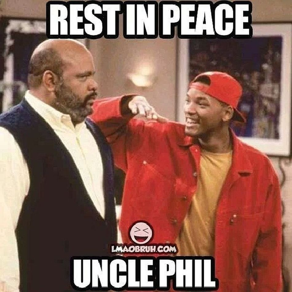 Awww :( childhood show is over :( Unclephil Freshprinceofbellair