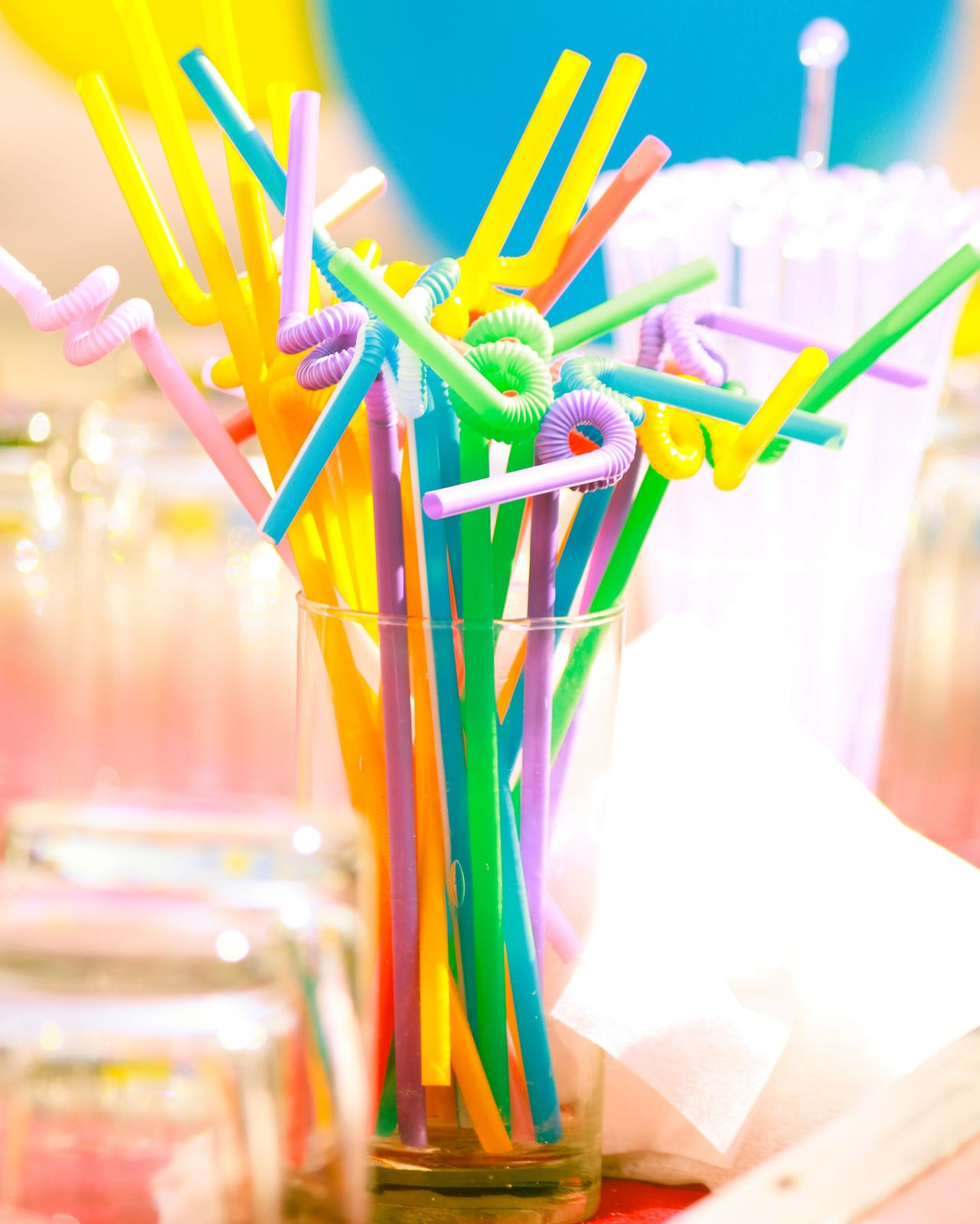 Happy Colors Multi Colored No People Day Outdoors Loveforphotography Happiness Birthdayparty Straw Canon700D