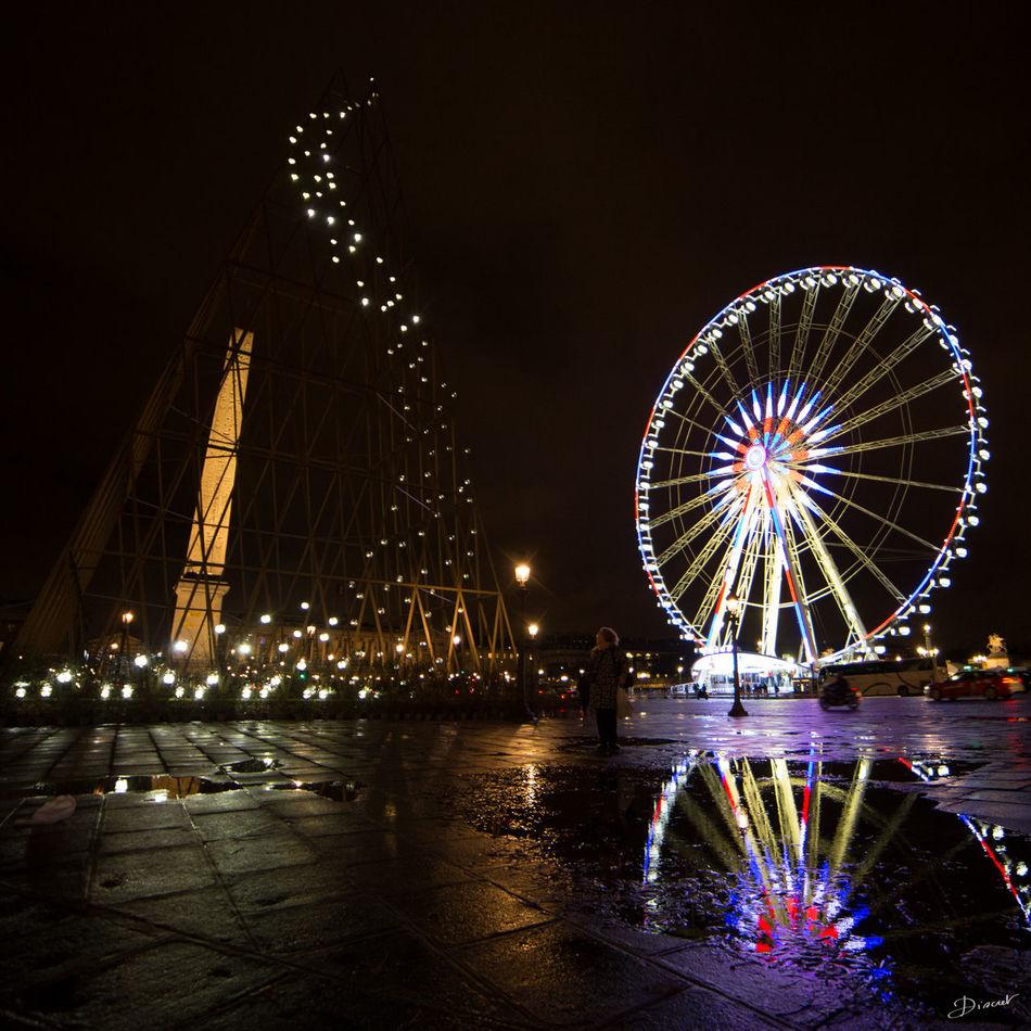 Concorde Place De La Concorde Grande Roue De Paris Bleu Blanc Rouge Je Suis Paris