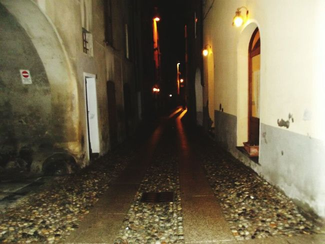 Where the streets have no names Streetphotography Avolasca Nightphotography