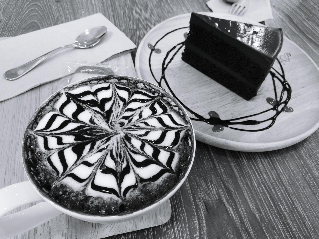 SLICE Sweet Food Table Slice Of Cake No People Chocolate Chocolate Hot Cake
