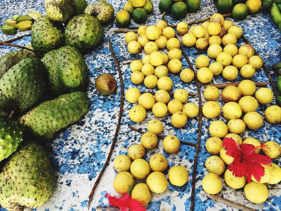 Exotic fruits on a Local Market on the Seychelles Variation Market Fruit Fruits Large Group Of Objects No People Freshness Exotic Fruits Seychelles Fruitporn Fruit Photography