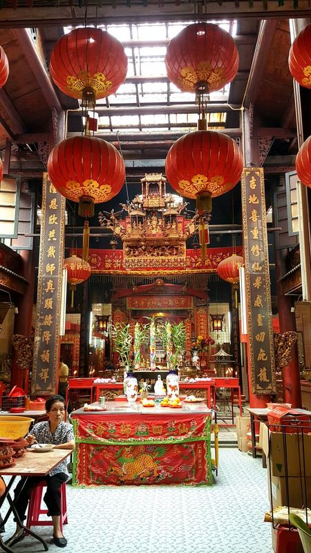 Day out to Sin Sze Si Ya Temple at Kuala Lumpur! Red Cultures Indoors  Travel Destinations Built Structure Architecture RedPlace Of Worship City Gold Colored Day Place Of Worship