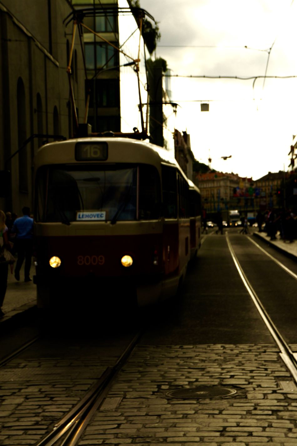 #16 #cable Car #City #city Life #late Summer #Prague #Tracks #tramway