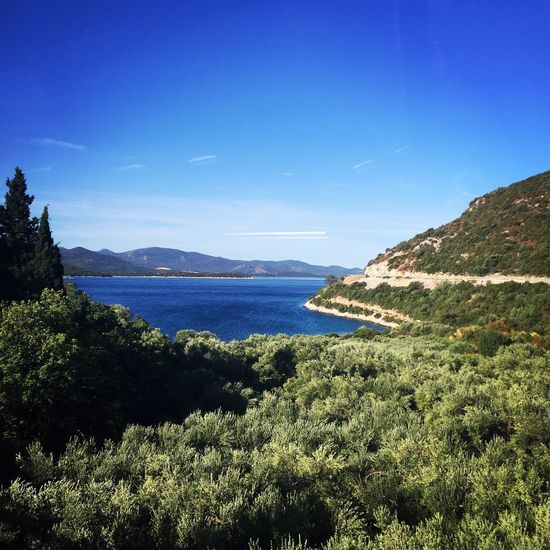 Croatia Nature Tranquil Scene Beauty In Nature Sea Blue Green No People Tranquility Day Mountain Landscape Sky Travel Travel Destinations