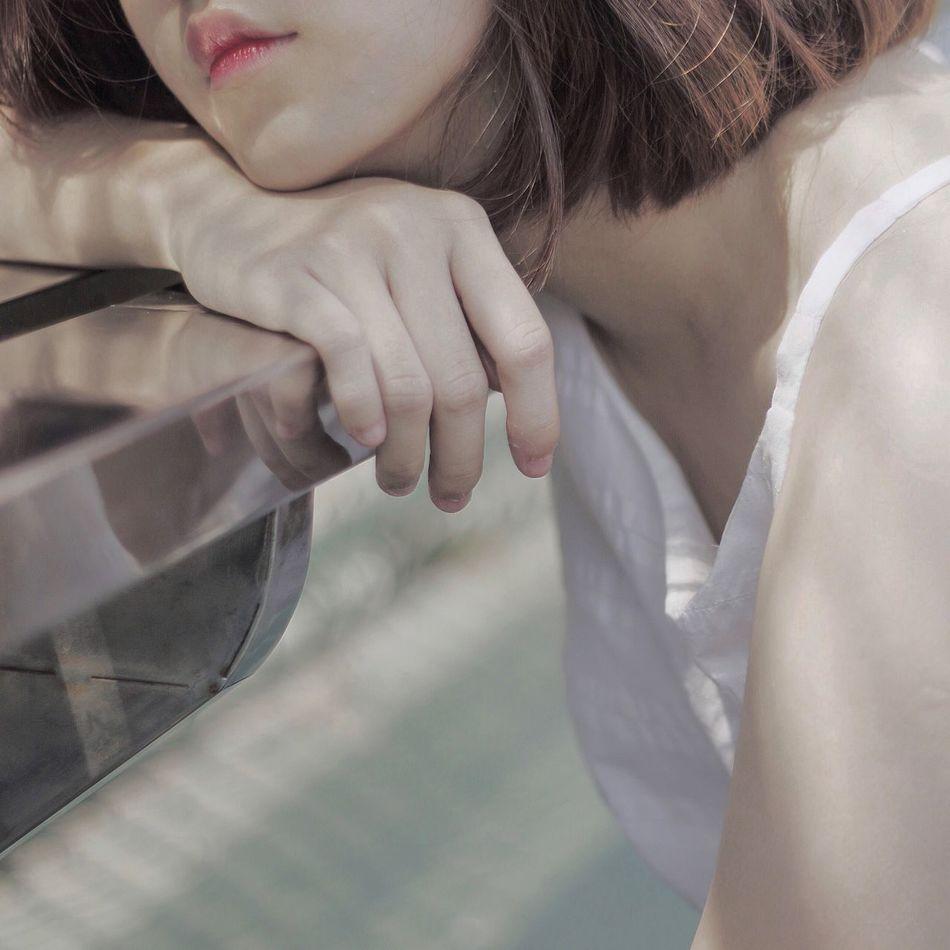 The quiet poem (3) Summertime VSCO Things I Like My Favorite Photo Girls Green Summer